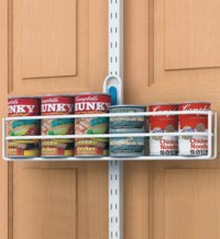 freedomRail Over Door Can Holder in Over the Door Organizers