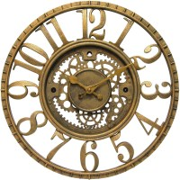 Decorative Gear Clock in Wall Clocks