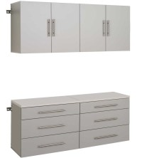 Hang-Up Garage Cabinet System - 60 x 72 x 16 Inch in ...