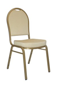 Stacking Banquet Chair - Domed Back in Dining Chairs