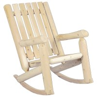 High Back Rocking Chair in Outdoor Rockers