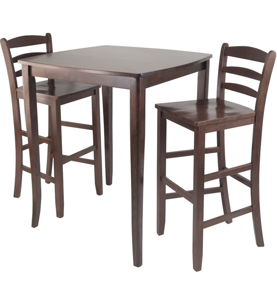 kitchen table high top cast iron sinks for sale dining and chairs in bar sets image
