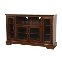 52 Inch Highboy Wood TV Stand in TV Stands