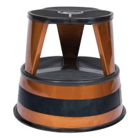 Cramer Kik-Step Rolling Step Stool - Copper in Step Stools