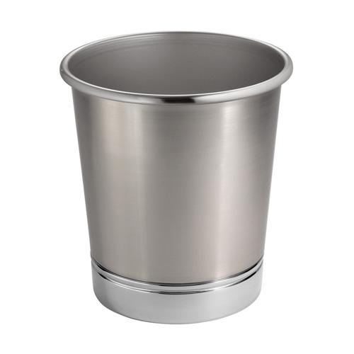 York Metal Bathroom Waste Basket in Small Trash Cans