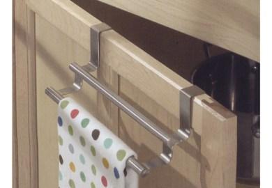 Kitchen Cabinet Door Towel Bar