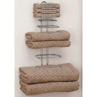 Folded Towel Rack in Wall Towel Racks
