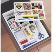 Junk Drawer Organizer in Desk Drawer Organizers