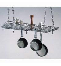 Kitchen Hanging Pot Rack in Hanging Pot Racks