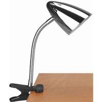 Bullet Clip-On Reading Lamp - Chrome in Desk Lamps
