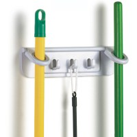 Mop and Broom Organizer in Broom and Mop Holders