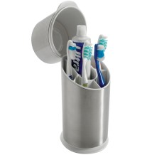 OXO Stainless Steel Toothbrush Holder in Toothbrush Holders