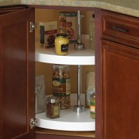 18 Inch Cabinet Lazy Susan - White - Full-Round in Cabinet ...