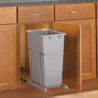 Pull-Out Cabinet Trash Can - 30 Quart in Cabinet Trash Cans