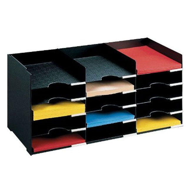 Horizontal Desk Organizer  15 Compartments in File and
