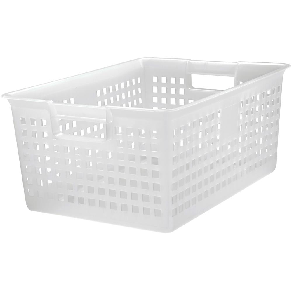 Top Plastic Storage Bins With Lids - iris-plastic-mesh-storage-baskets-clear  Trends_534986.jpg
