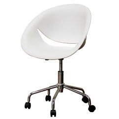 Plastic Swivel Chair French Bistro Chairs Dining Room Office In Modern
