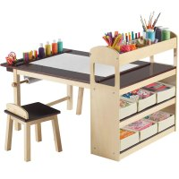 Kids Activity Table with Storage in Kids Desks