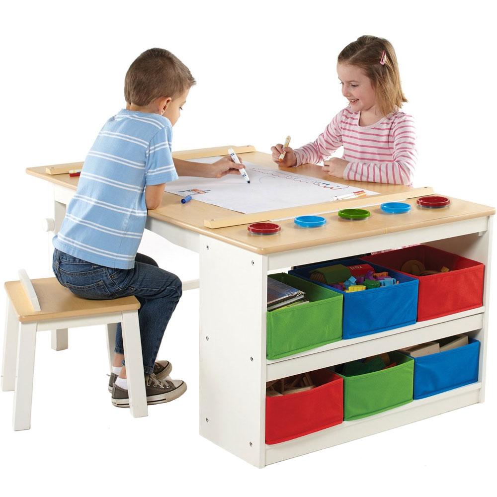 Kids Arts and Crafts Table in Kids Desks