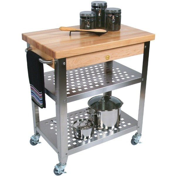 Kitchen Cart - John Boos Cucr3020 In Kitchen Island Carts