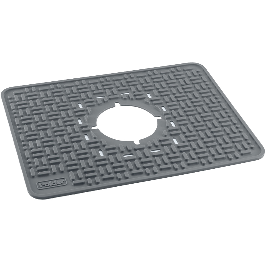 kitchen sink mats with drain hole designs for small kitchens mat in