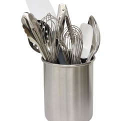 Kitchen Utensils Holder Building Cabinet Doors Utensil Stainless Steel In Holders Image
