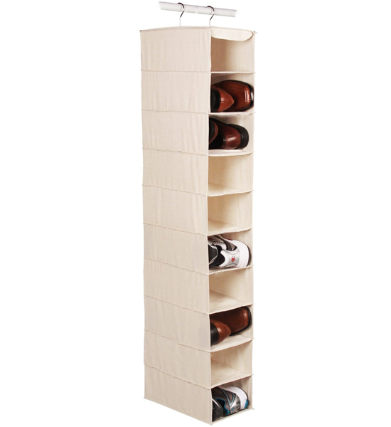 Large Hanging Closet Shoe Organizer