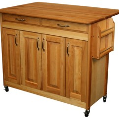 Catskill Craftsmen Kitchen Island Wall Paper Borders For Kitchens Butcher Block In Carts