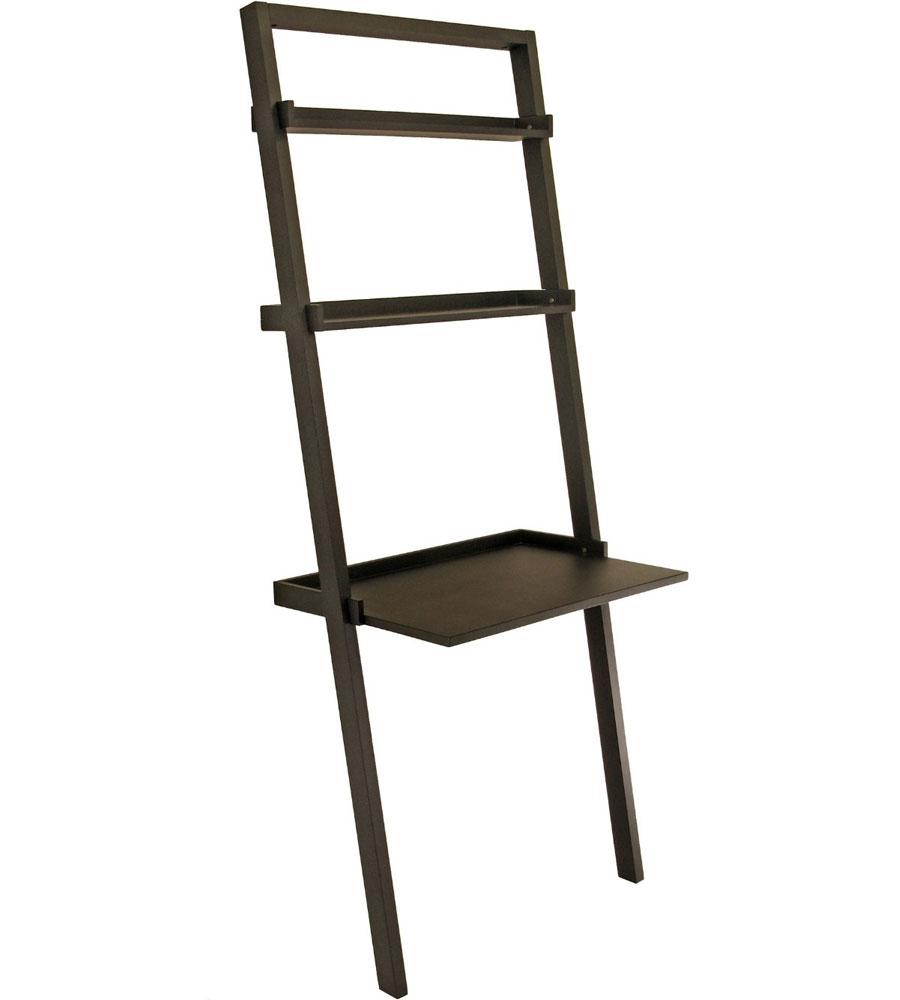 Leaning Ladder Shelf Desk in Desks and Hutches