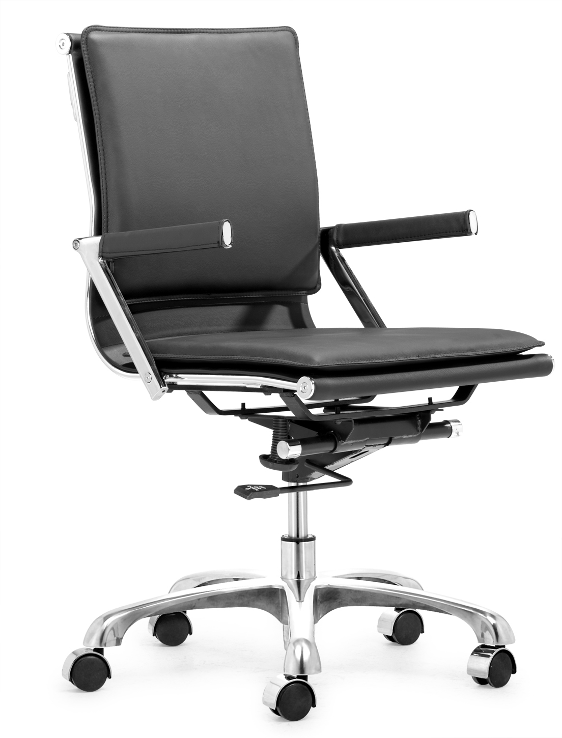 zuo swivel chair and ottoman target lider plus office by modern in chairs
