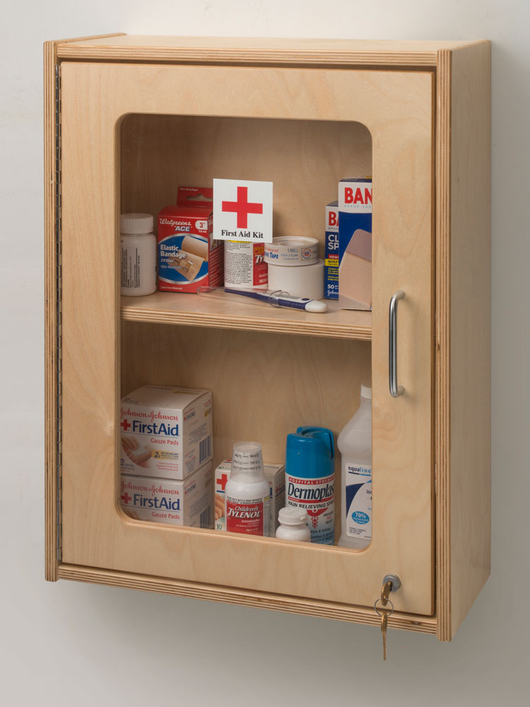 Lockable First Aid Box in Emergency Products