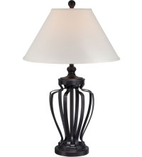 Metal Table Lamp - Dark Bronze in Table Lamps