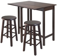 High Table with Swivel Stools in Bar Table Sets