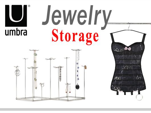 Jewelry Storage Using Umbra Design Products