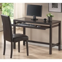 Chair For Writing Desk With Adjustable Arms Mesa Dark Brown And Parson Set By