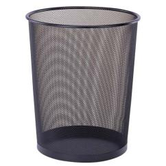Kitchen Trash Bin Homedepot Cabinets Mesh Waste Basket In Small Cans