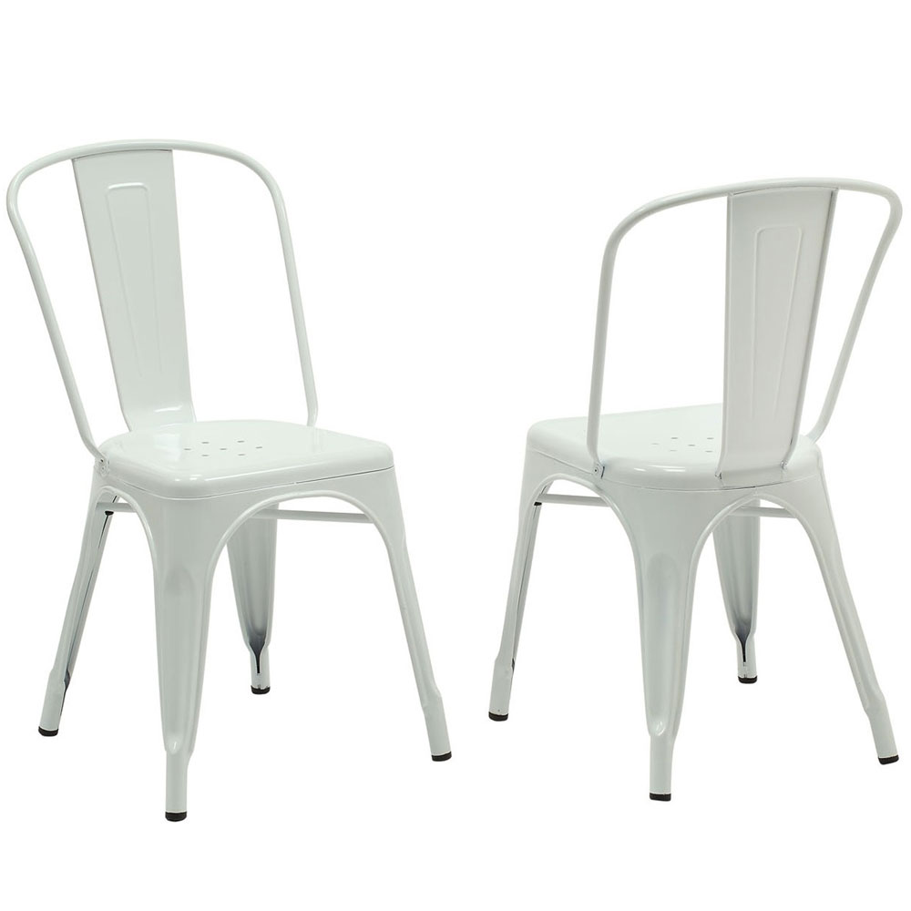 cafe chairs metal chair stools set of 2 in dining image