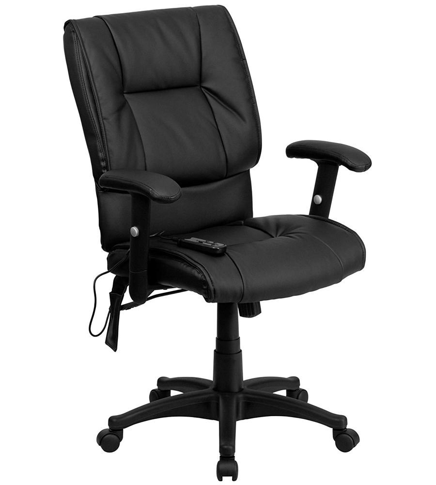 MidBack Massaging Office Chair in Office Chairs