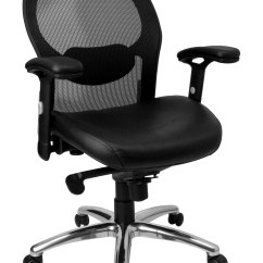 Desk Chair Knees Pantone Folding Mesh Office With Leather Seat In Chairs