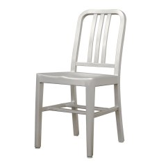 Modern Aluminum Chair Small Dining Tables And Chairs For 2 Cafe In Brushed Set Of By