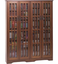 Multimedia Cabinet by Leslie Dame in Media Storage Cabinets