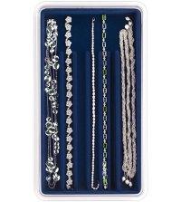 Necklace Holder Jewelry Organizer - Blue in Jewelry Trays