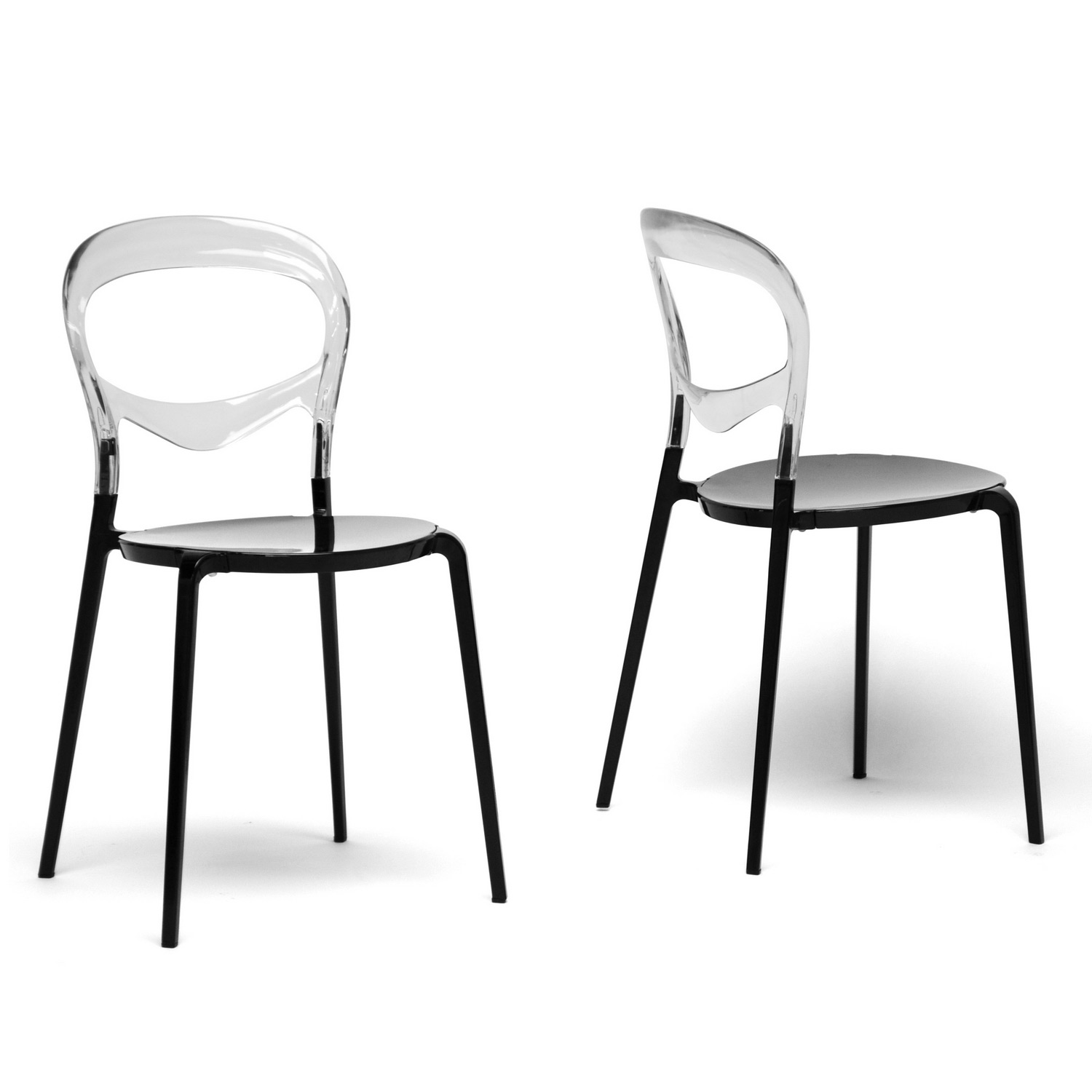 clear dining chair billiard spectator chairs orlie modern set of 2 by wholesale