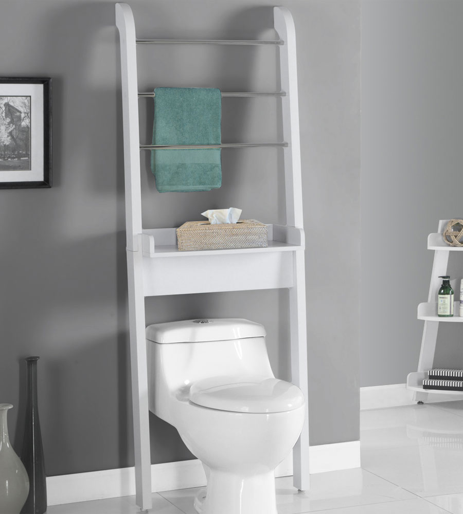 Over the Toilet Storage Unit in Over the Toilet Shelving