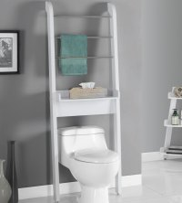 Bathroom Shelves Over Toilet | www.imgkid.com - The Image ...