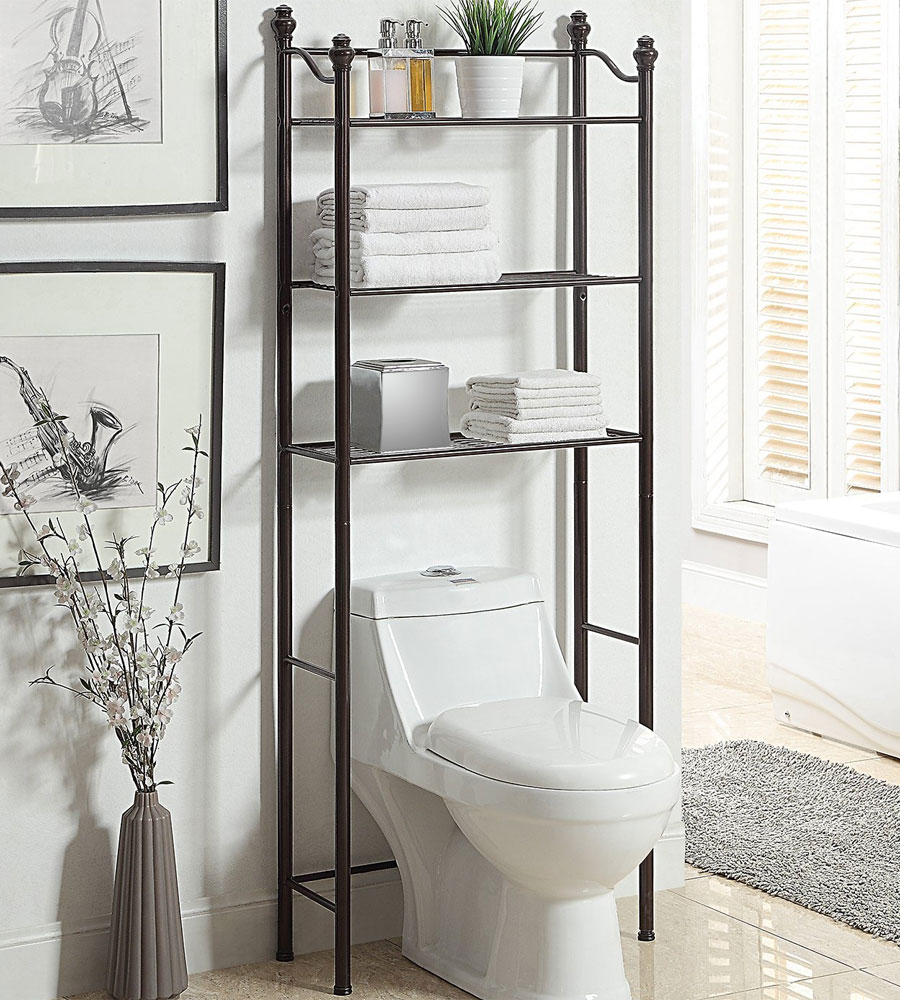 Over The Toilet Bathroom Shelving
