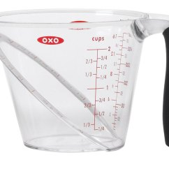 Microwave Kitchen Cart Ikea Hardware Oxo Good Grips Angled Measuring Cup - 2 In ...