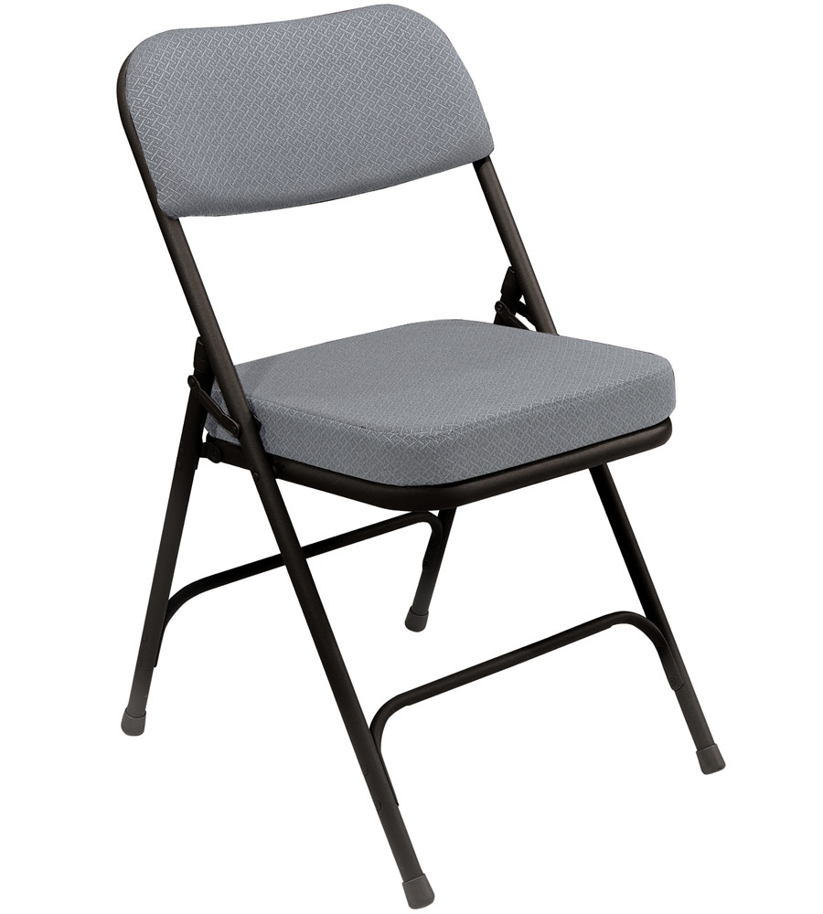 Padded Seat Folding Chairs Set of 2 in Folding Chairs