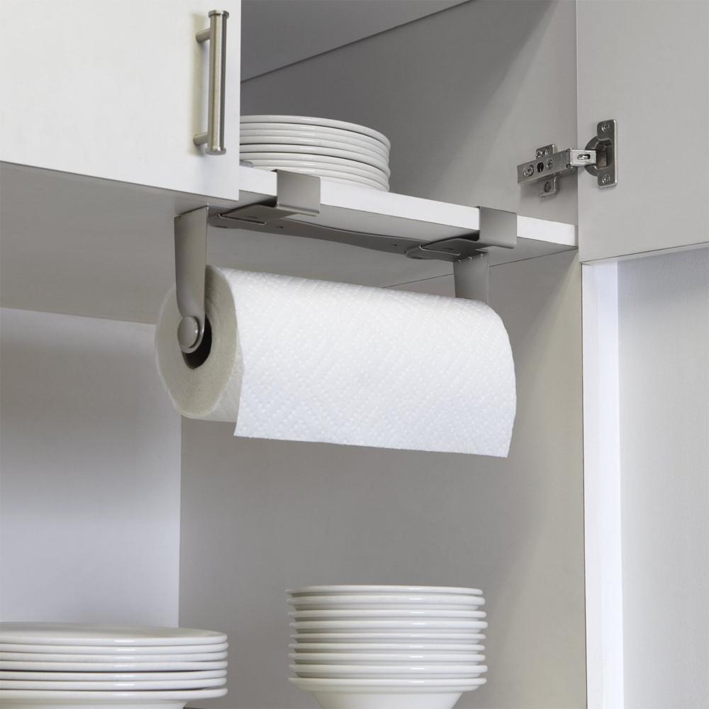 kitchen paper towel holder sliding glass cabinet doors multi installation in holders image