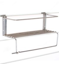Paper Towel Holder with Shelf